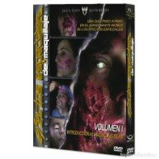 Cine: EFECTOS ESPECIALES DE MAQUILLAJE VOL.1 - DVD. Lote 76680919