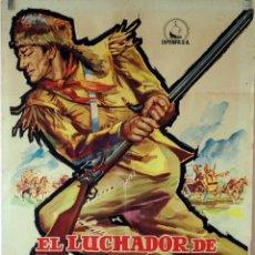 Cine: EL LUCHADOR DE KENTUCKY. JOHN WAYNE. CARTEL ORIGINAL 1960. 70X100. Lote 76695179