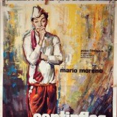 Cine: EL PORTERO. CANTINFLAS. CARTEL ORIGINAL 1966. 70X100. Lote 76697587