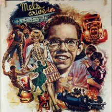 Cine: AMERICAN GRAFFITTI. GEORGE LUCAS. CARTEL ORIGINAL 1974. 70X100. Lote 76700999
