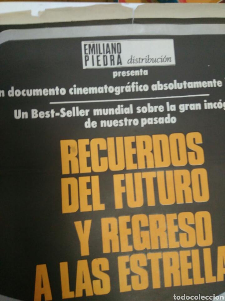 Cine: POSTER DE LA PELICULA RECURDOS DEL FUTURO Y REGRESO A LAS ESTRELLAS - Foto 5 - 76968542