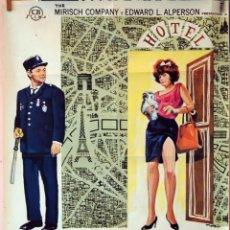 Cine: IRMA LA DULCE. JACK LEMMON-SHIRLEY MACLAINE. CARTEL ORIGINAL 1969. 70X100. Lote 77072025