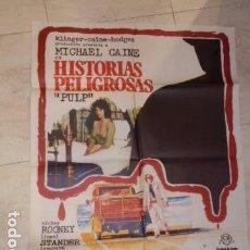 Cine: POSTER PELICULA HISTORIAS PELIGROSAS *PULP* - CARTEL TAMAÑO APROXIMADO 95X65 CM.. Lote 77244801