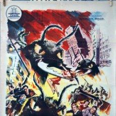 Cine: LA HUMANIDAD EN PELIGRO. GORDON DOUGLAS. CARTEL ORIGINAL 1962. 70X100. Lote 77496701