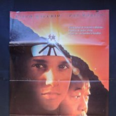 Cine: KARATE KID III / CARTEL ORIGINAL DE CINE ( 100 X 70 ) AÑO 1989. Lote 169617590