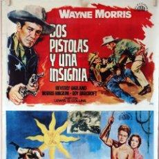 Cine: PROGRAMA DOBLE EN UN SOLO CARTEL. DOS PISTOLAS Y UNA.../ EL IDOLO DE BARRO ORIGINAL DE 1964. 70X100. Lote 77538217