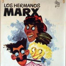 Cine: UNA TARDE EN EL CIRCO. HERMANOS MARX. CARTEL ORIGINAL AÑOS 60. 70X100. Lote 77539617
