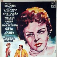 Cine: EL CASO DE UNA ADOLESCENTE. EMILIO GÓMEZ MURIEL. CARTEL ORIGINAL 1958. 70X100. Lote 77540673
