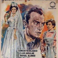 Cine: MI NOCHE DE BODAS. CONCHA VELASCO-TONY LEBLANC-GRACITA MORALES. CARTEL ORIGINAL 1961. 70X100. Lote 77815081
