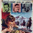 Cine: EL TESORO DE SIERRA MADRE. JOHN HUSTON-HUMPHREY BOGART. CARTEL ORIGINAL 1964. 70X100. Lote 77899833