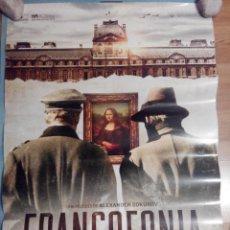 Cine: FRANCOFONIA - APROX 70X100 CARTEL ORIGINAL CINE (L39). Lote 78443713