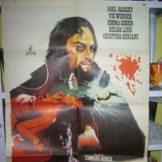 Cine: EL ESPANTO SURGE DE LA TUMBA PAUL NASCHY POSTER ORIGINAL 70X100. Lote 78656669