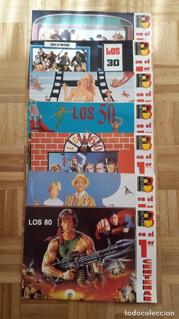 LOTE 7 POSTER PRIMER CENTENARIO DE CINE. DESDE LOS COMIENZOS HASTA LOS AÑOS 80 - VER FOTOS (Cine - Posters y Carteles - Aventura)