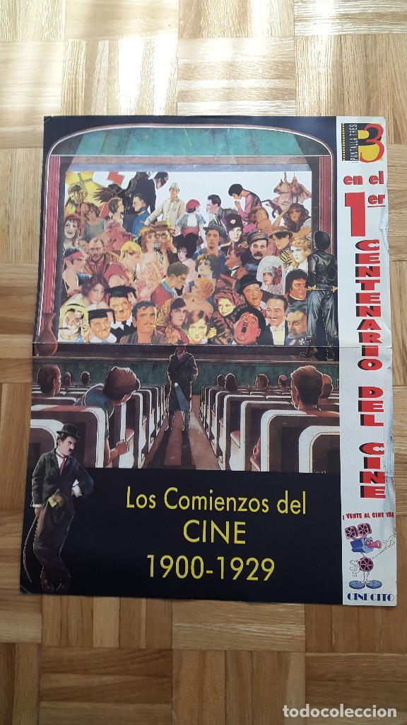 Cine: LOTE 7 POSTER PRIMER CENTENARIO DE CINE. DESDE LOS COMIENZOS HASTA LOS AÑOS 80 - VER FOTOS - Foto 2 - 79088145