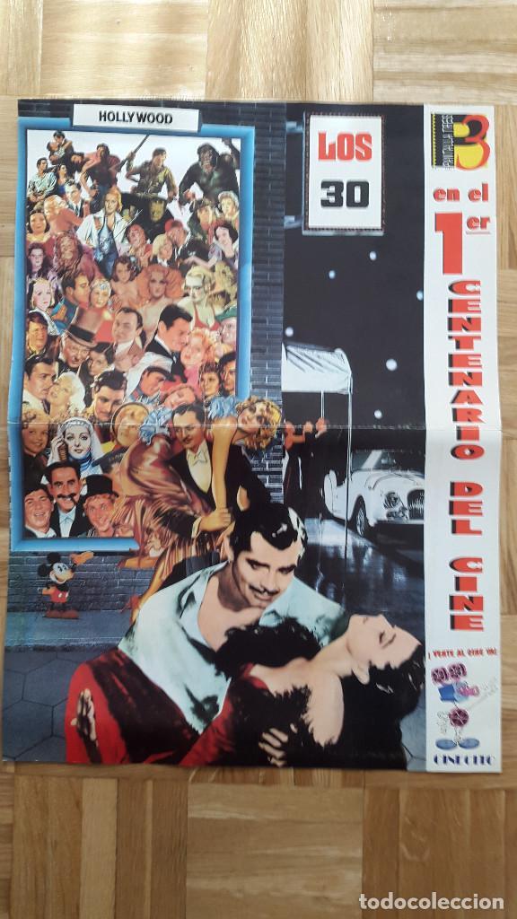 Cine: LOTE 7 POSTER PRIMER CENTENARIO DE CINE. DESDE LOS COMIENZOS HASTA LOS AÑOS 80 - VER FOTOS - Foto 4 - 79088145