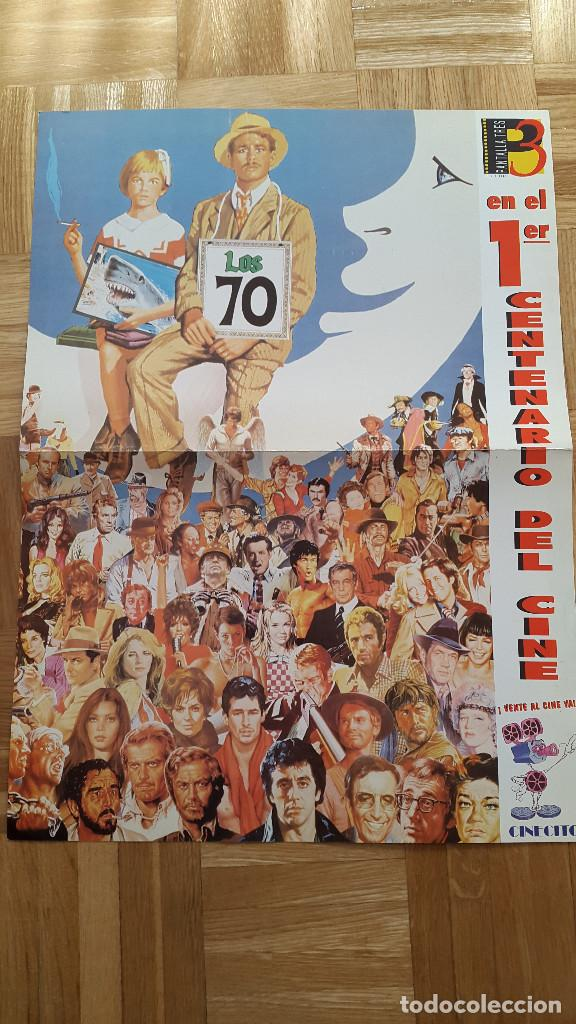 Cine: LOTE 7 POSTER PRIMER CENTENARIO DE CINE. DESDE LOS COMIENZOS HASTA LOS AÑOS 80 - VER FOTOS - Foto 12 - 79088145