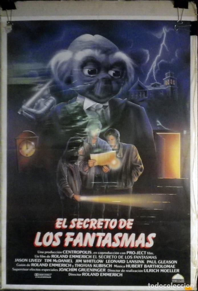 ORIGINALES DE CINE: EL SECRETO DE LOS FANTASMAS. 1987. (Cine - Posters y Carteles - Infantil)