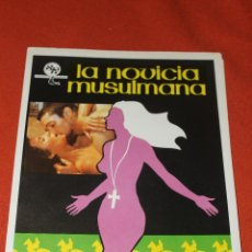Cine: CARTEL CINE LA NOVICIA MUSULMANA, 1979. Lote 79815397