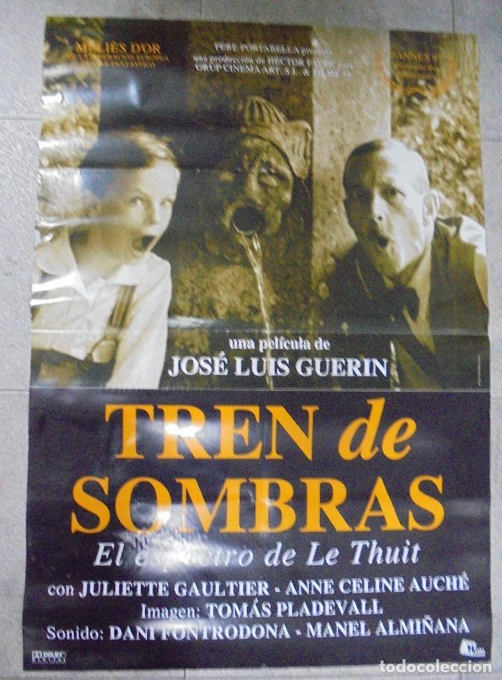 CARTEL DE CINE ORIGINAL. TREN DE SOMBRAS. 97,5 X 67 CM (Cine- Posters y Carteles - Drama)
