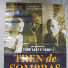 Cine: CARTEL DE CINE ORIGINAL. TREN DE SOMBRAS. 97,5 X 67 CM. Lote 79857021