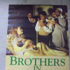 Cine: CARTEL DE CINE ORIGINAL. BROTHERS IN TROUBLE. 97,5 X 67 CM.. Lote 79858113