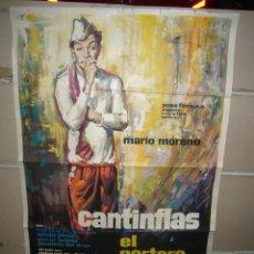 Cine: EL PORTERO CANTINFLAS POSTER ORIGINAL MAC 70X100 YY(1560). Lote 79877157