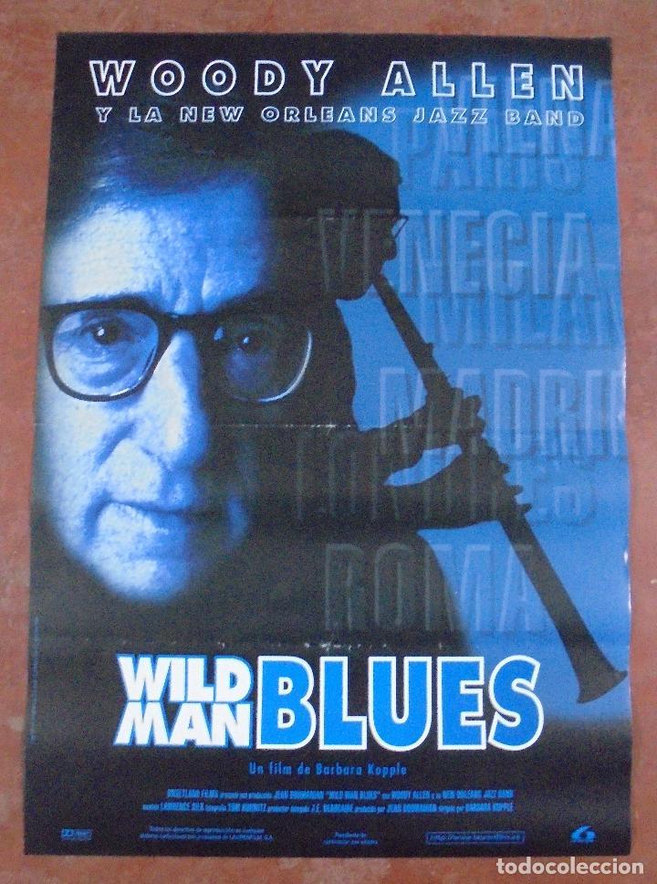 CARTEL DE CINE ORIGINAL. WILD MAN BLUES. 97,5 X 67 CM (Cine - Posters y Carteles - Musicales)