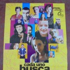 Cine: CARTEL DE CINE ORIGINAL. CADA UNO BUSCA SU GATO. 97,5 X 67 CM. Lote 79950513