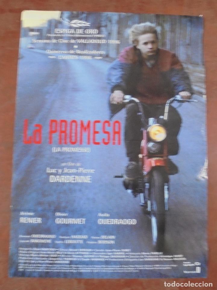 CARTEL DE CINE ORIGINAL. LA PROMESA. 97,5 X 67 CM (Cine- Posters y Carteles - Drama)