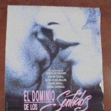 Cine: CARTEL DE CINE ORIGINAL. EL DOMINIO DE LOS SENTIDOS. 97,5 X 67 CM. Lote 79951489