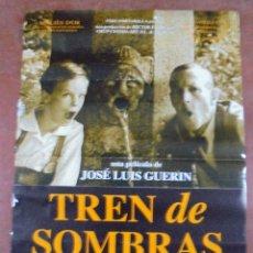 Cine: CARTEL DE CINE ORIGINAL. TREN DE SOMBRAS. 97,5 X 67 CM. Lote 79951861