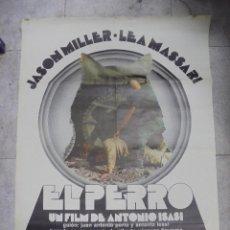 Cine: CARTEL DE CINE ORIGINAL. EL PERRO. 99 X 70 CM. Lote 143769301