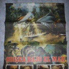 Cine: CARTEL DE CINE ORIGINAL. ODISEA BAJO EL MAR. 97 X 60 CM. Lote 79963081
