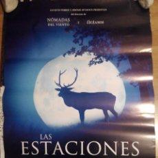 Cine: LAS ESTACIONES - APROX 70X100 CARTEL ORIGINAL CINE (L39). Lote 80145633