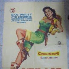 Cine: CARTEL DE CINE ORIGINAL. VIVA LAS VEGAS. 100X70 CM. 1958. Lote 80196465