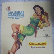 Cine: CARTEL DE CINE ORIGINAL. VIVA LAS VEGAS. 100X70 CM. 1958. Lote 80196601