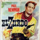 Cine: EL ZURDO. PAUL NEWMAN-ARTHUR PENN. CARTEL ORIGINAL 1961. 70X100. Lote 80229945
