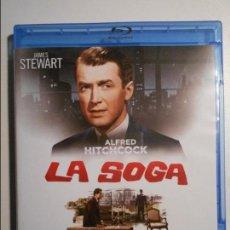 Cine: LA SOGA. BLURAY DE LA PELICULA DE ALFRED HITCHCOCK. CON JAMES STEWART.. Lote 80502121