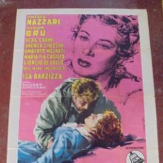 Cine: CARTEL ORIGINAL DE CINE. APPASSIONATAMENTE. 140 X 100 CM. 1954. Lote 80579202