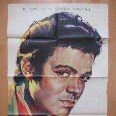 Cine: CARTEL CINE, EL ANGEL DE ESPAÑA, PEDRITO RICO, MERCEDES CARRERAS, JANO, 1960, C1027. Lote 80874319