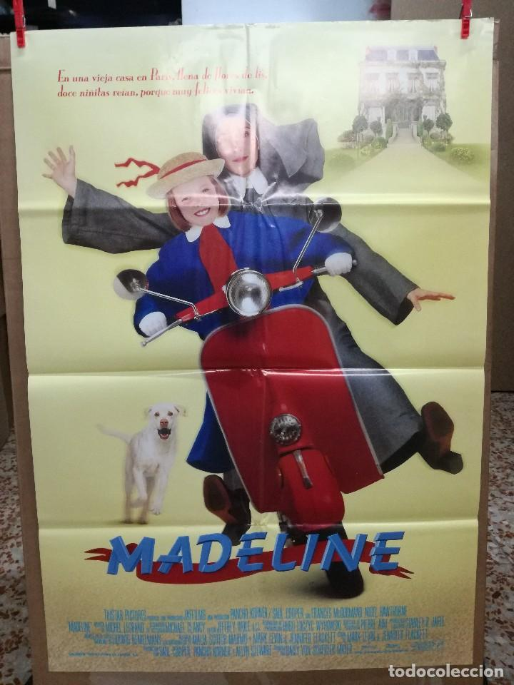 MADELINE, CARTEL DE CINE ORIGINAL 70X100 (Cine - Posters y Carteles - Infantil)