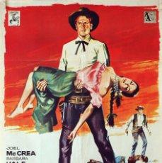 Cine: EL HOMBRE DE OKLAHOMA. JOEL MCCREA. CARTEL ORIGINAL 1964. 70X100. Lote 80953436