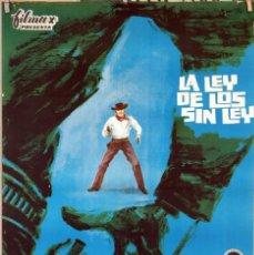Cine: LA LEY DE LOS SIN LEY. YVONNE DE CARLO. CARTEL ORIGINAL 1964. 70X100. Lote 81116124