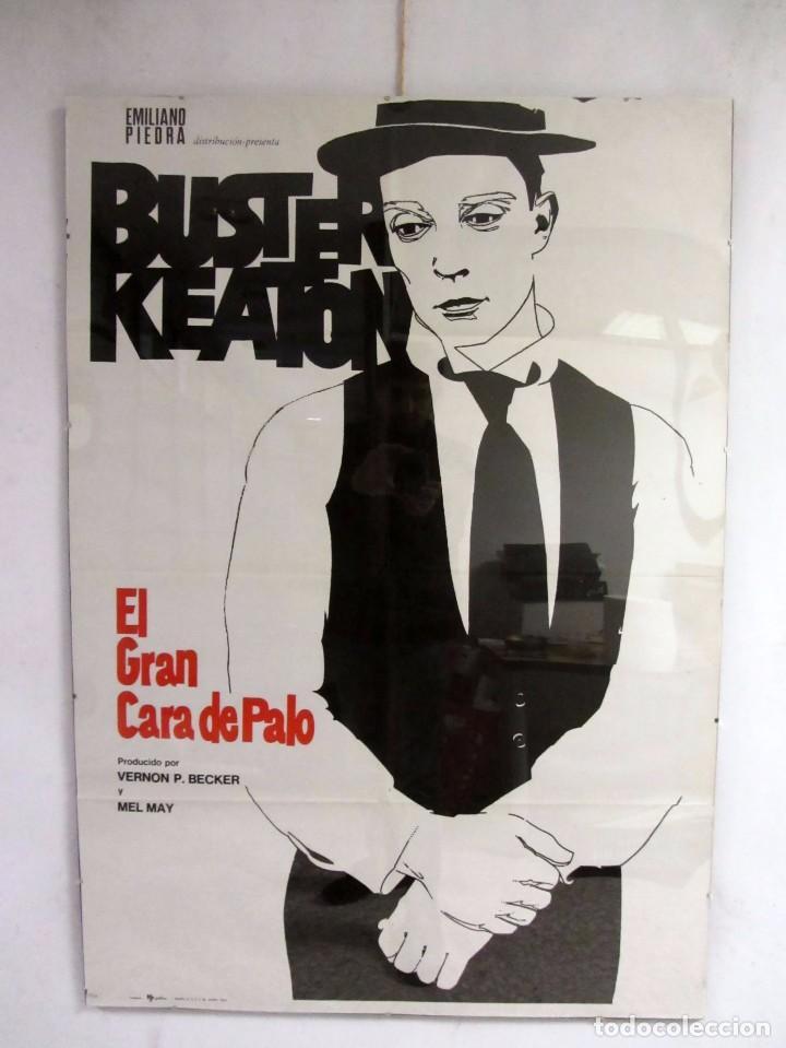 buster keaton el gran cara de palo cartel origi - Comprar Carteles y ...