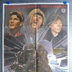Cine: EL TREN DEL INFIERNO, JON VOIGHT, ERIC ROBERTS, REBECCA DEMORNAY - AÑO 1986. Lote 81918280
