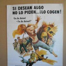 Cine: CARTEL, POSTER CINE - PELICULA: LA PANDILLA MALDITA - AÑO 1979 - ORIGINAL... R-5411. Lote 89544043