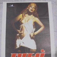 Cine: CARTEL DE CINE ORIGINAL. LULÚ. 1979. 100X70CM. Lote 82277980
