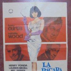 Cine: CARTEL DE CINE ORIGINAL. LA PÍCARA SOLTERA. 1965. 100 X 70 CM. Lote 82560268