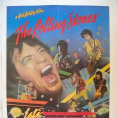 Cine: POSTER ORIGINAL USA / 1983 / THE ROLLING STONES / LET'S SPEND THE NIGHT TOGETHER. Lote 82914880