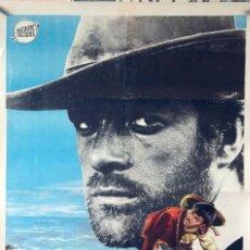 Cine: COMO LOBOS SEDIENTOS. GARY HUDSON. CARTEL ORIGINAL 1969. 70X100. Lote 83120920